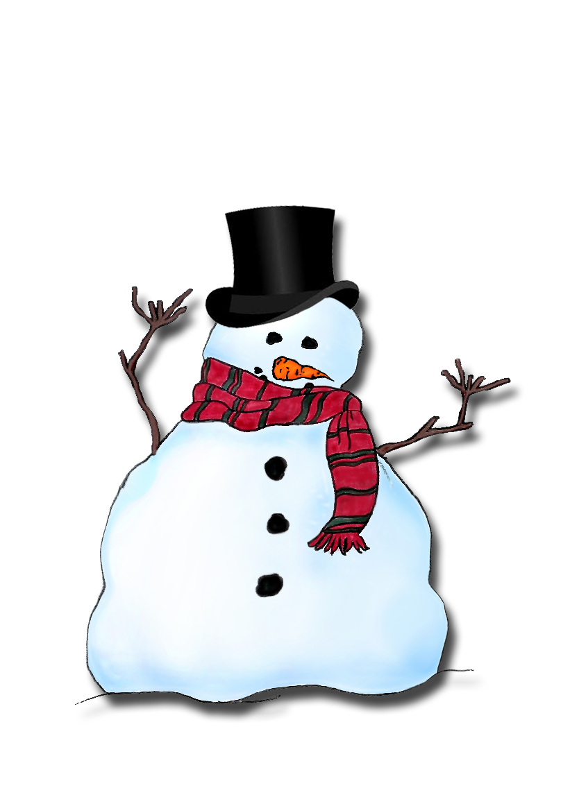 Frosty the Snowman Headshot
